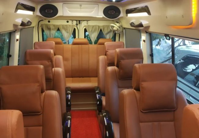 Maharaja Tempo Traveller offered by srm holidays pvt ltd