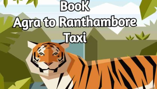 book agra to ranthambore taxi