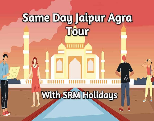 Same day Jaipur Agra tour By Car