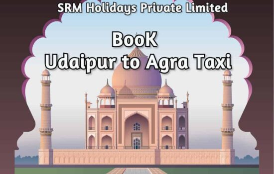 Udaipur to Agra taxi